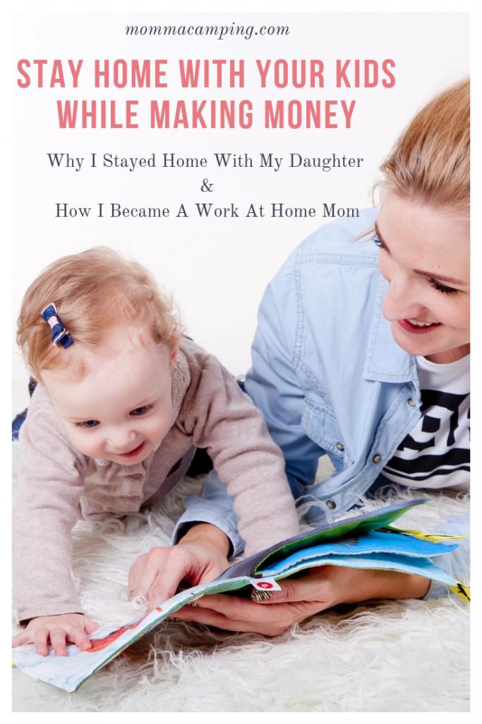 How I Embraced Motherhood and Became A Work At Home Mom #workathomemom