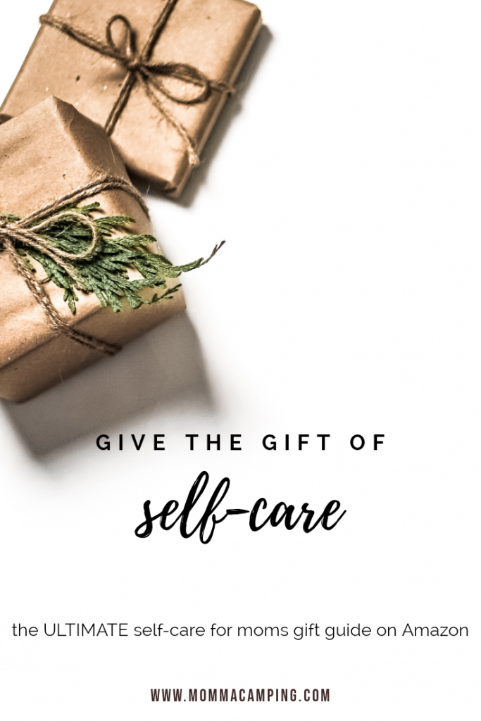 Here is the ultimate self-care for moms gift guide! There is no better way of saying I Love You, than by giving the gift of self-care. #selfcare #motherhood #holidays