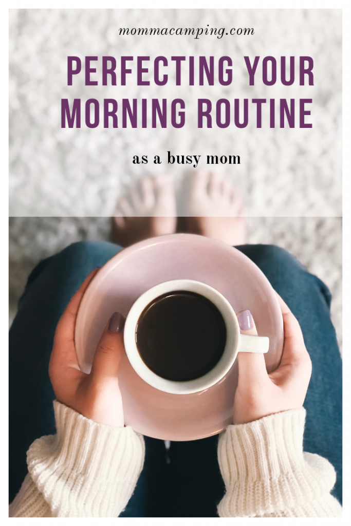 Would you like to have smooth flowing mornings - everyday? It is possible when you perfect your morning routine! #momlife #momhacks #morningroutine