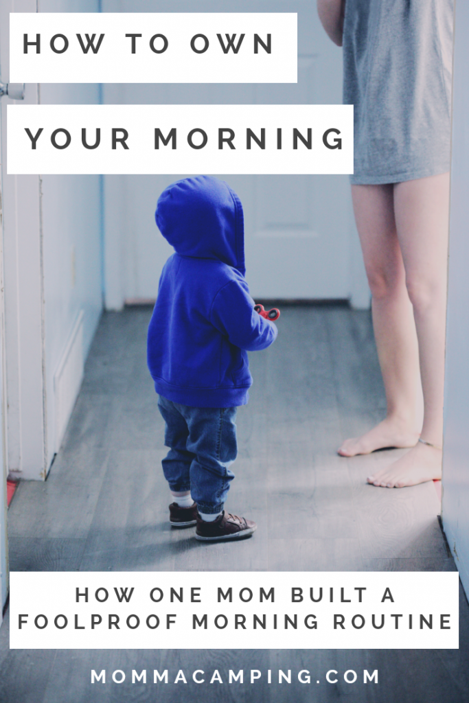 You can own your mornings by creating and mastering your morning routine! #morningsformom #morningschedule #momlife