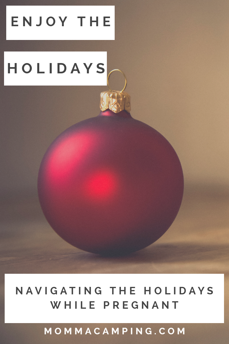 Are you pregnant and looking for tips to making it through the holiday season? You will find a great guide to navigating the Holidays and by reading you will find other amazing resources to help you through pregnancy. #newmom #pregnancy #holidays