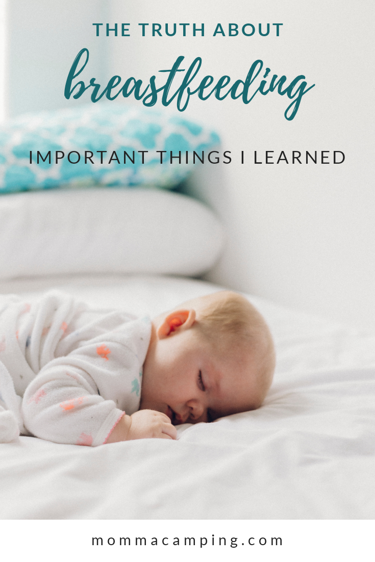 The Truth About Breastfeeding. One Mom's recollection of her unique journey and important things she learned along the way. #breastfeeding #pumpingmom #newmom