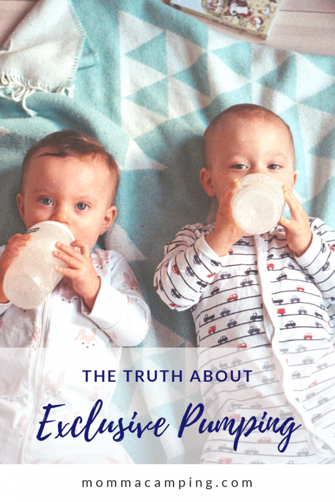 The Truth About Exclusive Breastfeeding. Find out what exclusive pumping is and important tips to help your journey be successful. #exclusivepumping #pumpingmom #breastfeeding
