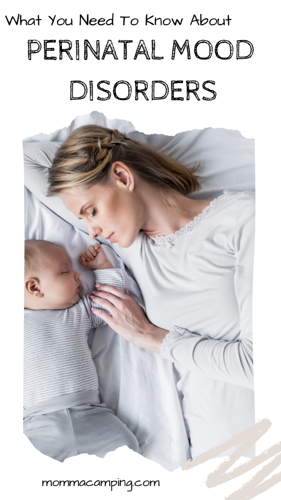 Perinatal Mood Disorders, mother and baby